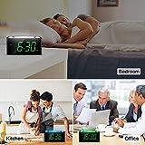 Alarm Clock, Large Number Digital LED Display with