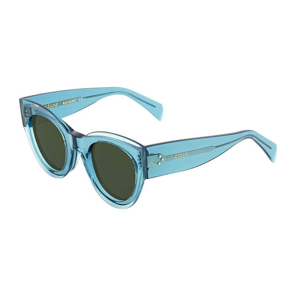 35e72c72feac Celine CL41447 S MR8 Petrol Petra Cats Eyes Sunglasses Lens Category 3 Size  48m at Amazon Men s Clothing store