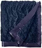 My Blankee Luxe Bella Super Throw Blanket, Navy, 60'' X 70''