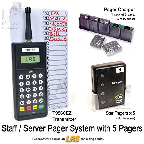 Long Range Systems Server Paging System Kit - Paging System For Office