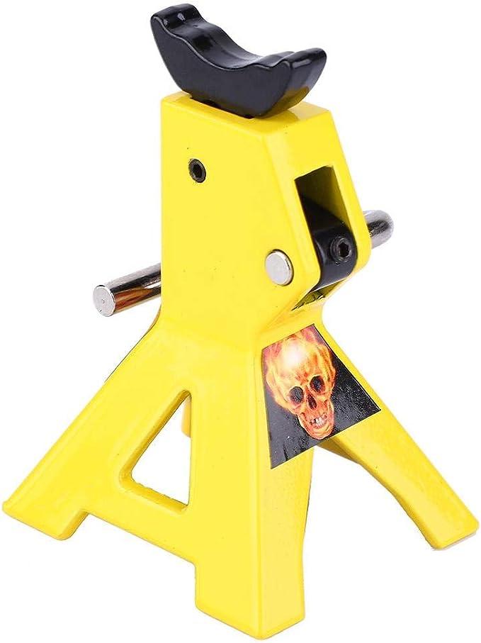 VGEBY1 2 pcs Jack Stands 1//10 Mini simulaci/ón Metal RC Jack Stands Wheeljack Accesorios de emulaci/ón para D90 SCX10 RC Crawler Car 3tone
