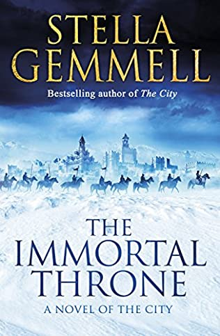 book cover of The Immortal Throne