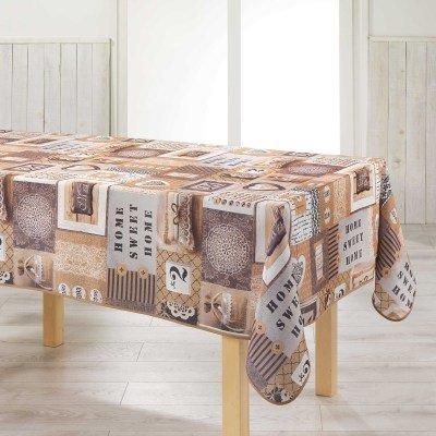 Arte Provenzale Antimacchia.Tovaglia Antimacchia Arte Provenzale No Stiro 300 Cm X 150 Cm Mod Esprit D Antan