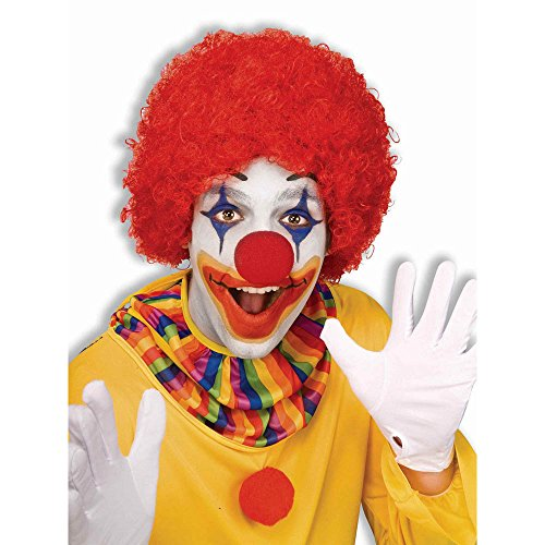 Forum Novelties Unisex Afro/Clown Wig,  Red, One