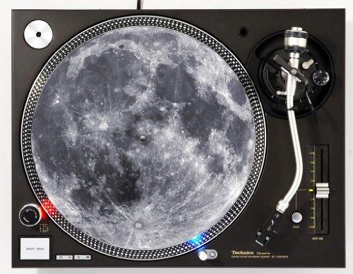 Full Moon DJ Turntable Slipmat