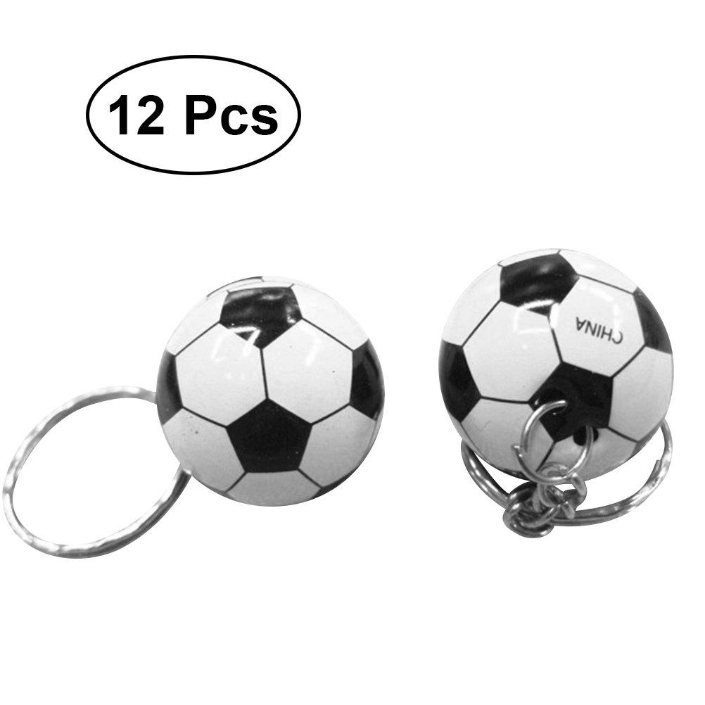 YeahiBaby 12pcs Llavero de Tel/éfono Celular y Coche con Dise/ño de Futbol Suministro de Copa Mundial