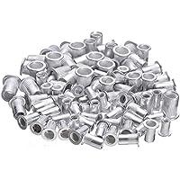 Tools for reparing 100st Staal Aluminium schroefdraad BLINDKLINKMOER Voegt M4 M5 M6 M8 Grote Flens gekartelde Body…