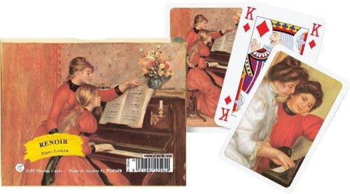 Piatnik Renoir Piano Lesson Playing Cards