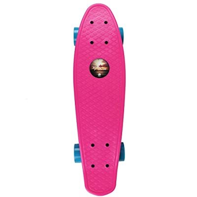 InMotion Nightbreak Series Plastic Cruiser Skateboards, Pink : Sports & Outdoors