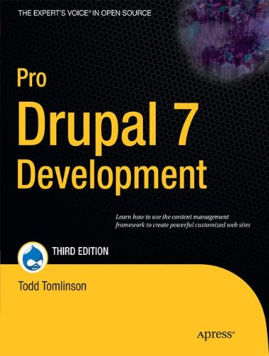 Book cover from Pro Drupal 7 Development by Todd Tomlinson