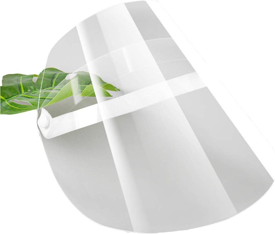 1pcs Gotas de Agua ulofpc 1//2//4//10 Pcs M/áscara de Careta Completa Transparente Protecci/ón de Visera Abatible Guardia de Seguridad para Protecci/ón contra Saliva Humo de Aceite Y Polvo Rosa