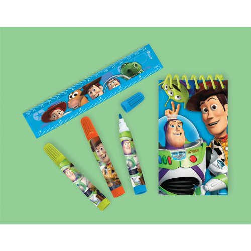 1 X Toy Story Stationary Set Amscan BC24676