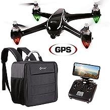 Contixo F18 RC Quadcopter 1080P HD Live FPV Video 5G Wi-Fi Camera Drone, Black