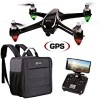 Contixo F18 Quadcopter Drone   Brushless Motors 1080p HD Live Video Built-In Camera Hobbyist Photographers GPS Flying RC Drone FPV WiFi RTH +Free Carrying Backpack ($50 Value)
