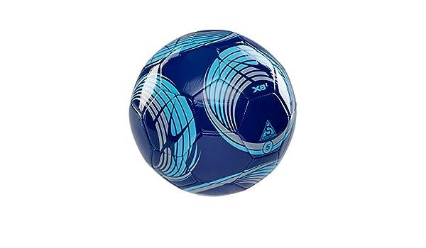 XARA XB1 V4 de fútbol balón de fútbol - tamaño 4 - azul/luz azul ...