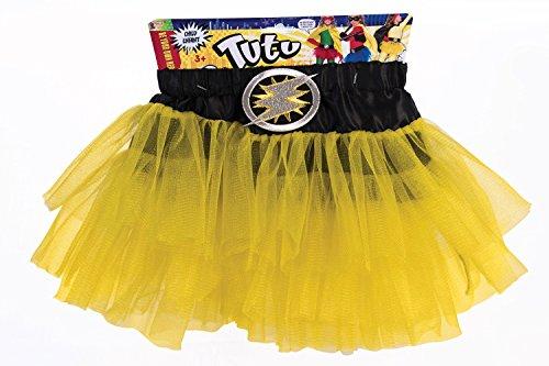Forum Novelties Child Hero Tutu Costume, Yellow (Kids Supergirl Tutu Costume)