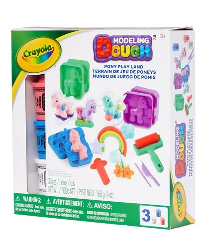 Crayola Modeling Dough Pony Play Land - 33 pieces