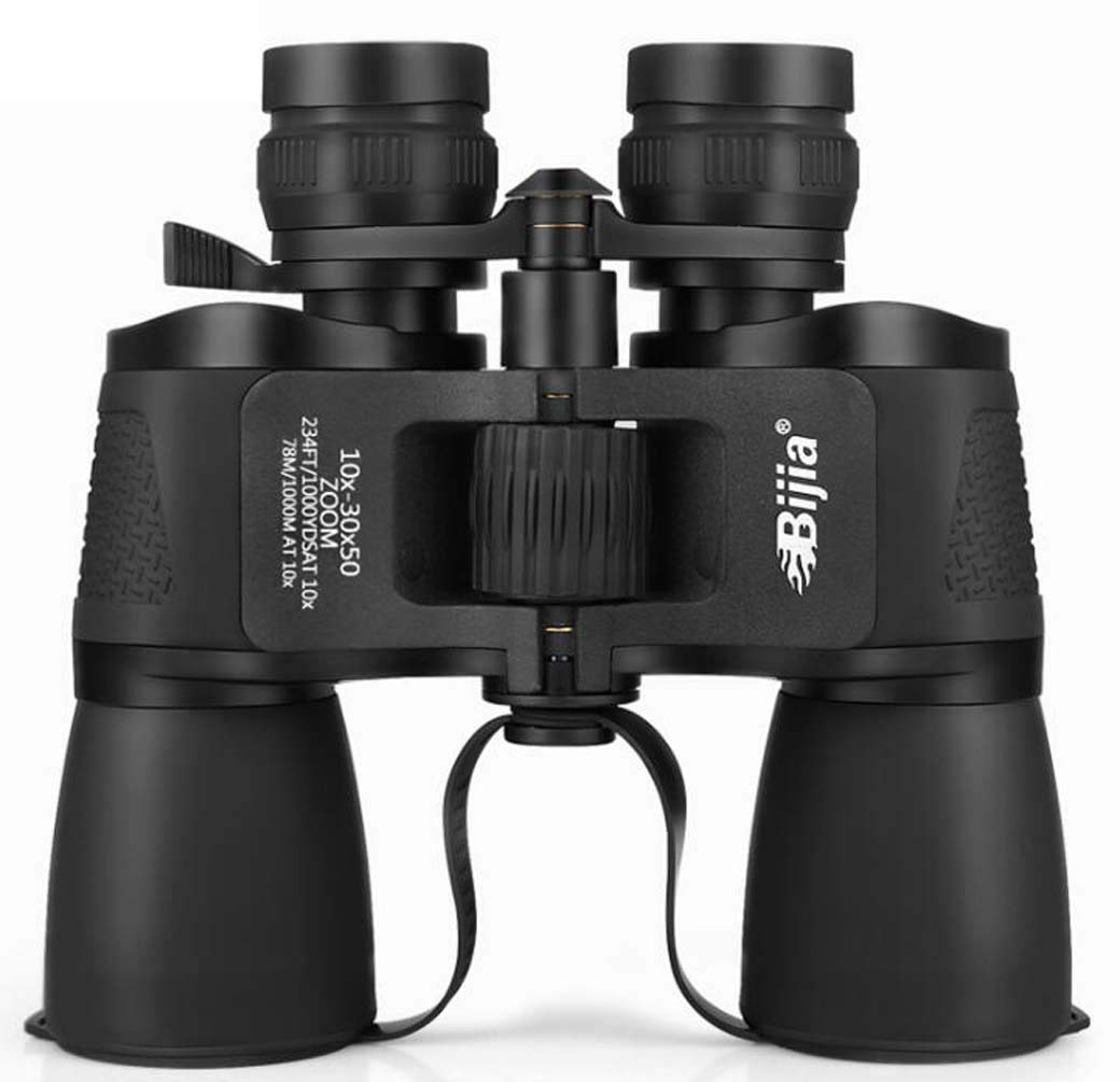 Super Paul Zoom 10-30x50 Binoculars, New Amber Coating Waterproof Binoculars, Adjustable Vision Difference Telescope, 30X True Magnification Rejects Virtual Standard by ZTYD