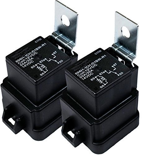 Pack of 1 Song Chuan 301-1A-C-R1-U03 12VDC Micro 280 SPST 35A Relay