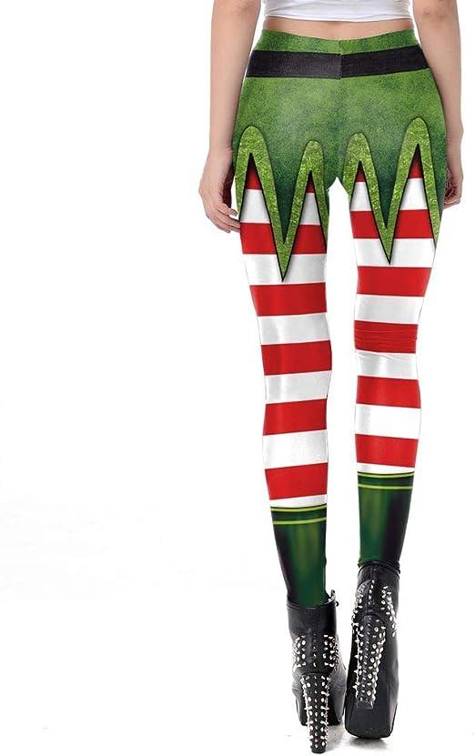 FELZ Leggins Mujer Fitness Push Up Cintura Alta Impresi/óN De Navidad Mujer Pantalones De Yoga Leggings Gimnasio Deportes Pantalones De Ejercicios Al Aire Libre Suaves Pilates Pantalones