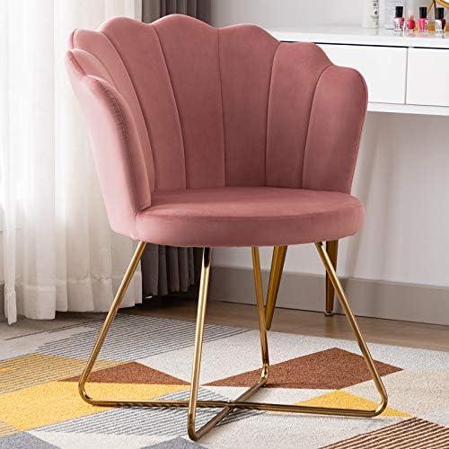 Cheap Duhome Velvet Accent Chair Vanity Chair Makeup Chair Guest Chair Tufted Desk Chair Living Room Chair living room chair for sale