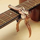 Crocodile Style Zinc Alloy Guitar Capo for Folk Wood Guitar Electric Guitar - Musical Instruments Guitar Parts - (Red Bronze) - 1 x ALFA X5 GTS 190mm FPV racing frame