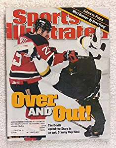 Jason Arnott - New Jersey Devils - 2000 Stanley Cup Champions! - Sports Illustrated - June 19, 2000 - Dallas Stars - Hockey - SI