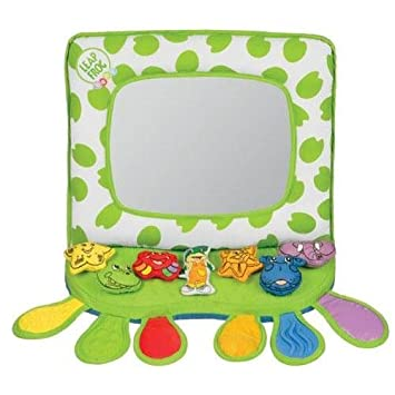 Amazon.com : Leapfrog Rhyming Reflections Crib and Floor Mirror ...