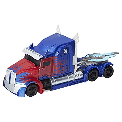 Transformers: The Last Knight Premier Edition Voyager Class Optimus (Last Action Hero Figure)