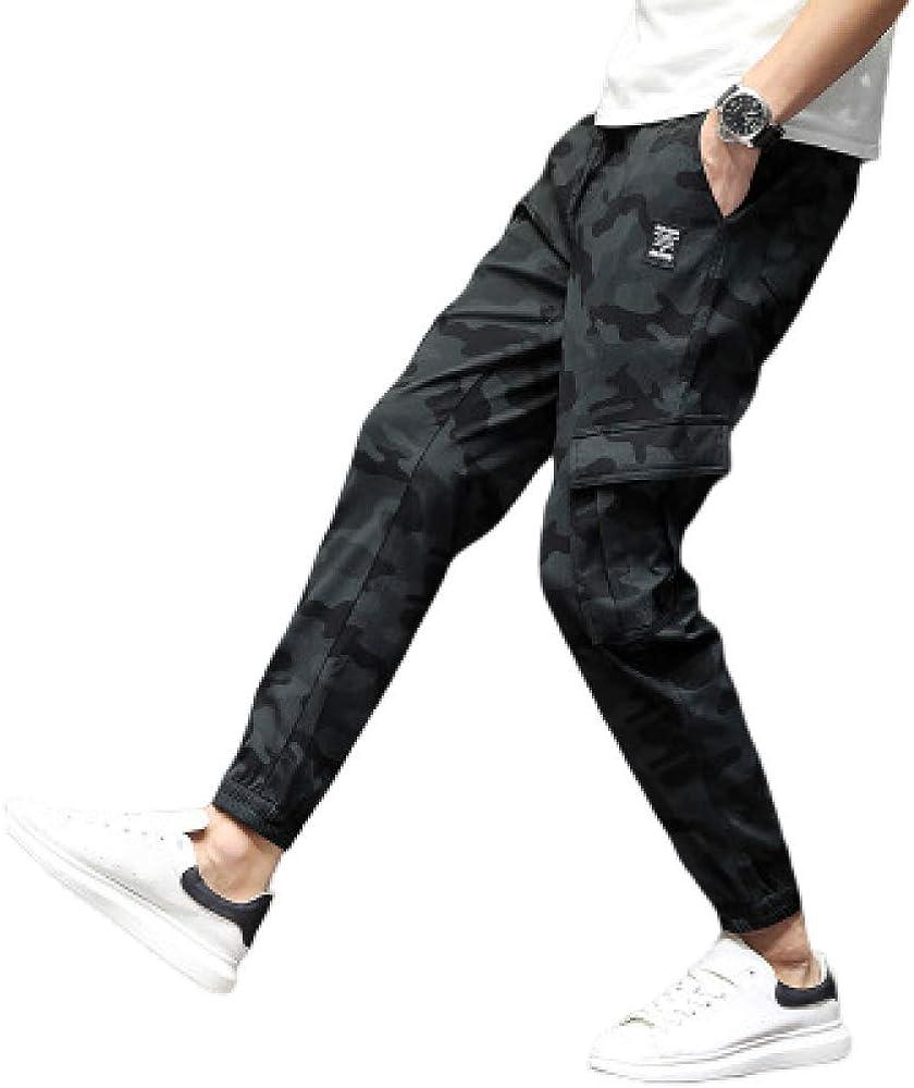 nobranded Pantalones de chándal de Camuflaje para Hombre Pantalones de chándal Pantalones de chándal Ajustados Pantalones Deportivos de Entrenamiento Pantalones Deportivos de Corte Ajustado