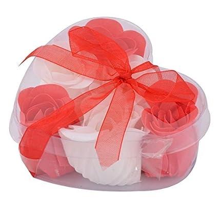 amazon com edealmax désherbage anniversaire ruban de fleur forme