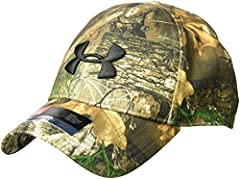 UA Free Fit features a pre-curved visor & unstructured front panels that conform to your head for a sleek low profile fit. Under Armour Scent Control technology traps & suppresses odors so you're less detectable & more lethal. Pol...