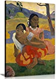 When Will You Marry Paul Gauguin Canvas Wall Art Picture Print decor ready to hang in your home, office or even bedroom. Panther Print Canvas prints are of high quality and come framed on a 18MM Pine wood lightweight frame with the canvas stretched o...