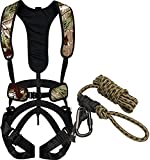 Hunter Safety System Bundle Includes 2 Items Bowhunter Harness, Large/X-Large Rope-Style Tree Strap