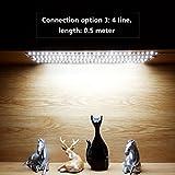 WOBANE LED Under Cabinet Lighting Kit,Flexible