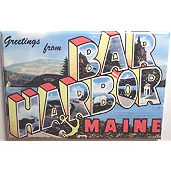 "Greetings From Spokane MAGNET 2/"" x 3/"" Fridge Locker Vintage Card Washington"