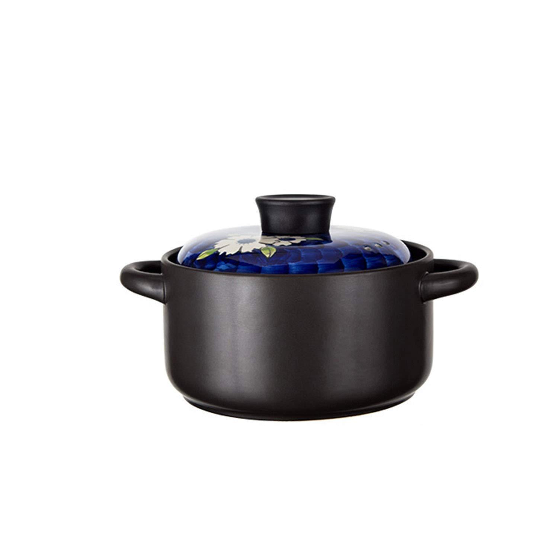 Olla con tapa de cristal y superficie antiadherente para inducci/ón 16 cm, 1,25 litros color negro Berndes Vario Click Induction