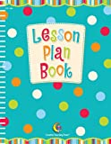 Creative Teaching Press Dots on Turquoise Lesson Plan Book