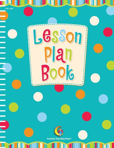 Creative Teaching Press Lesson Plan Book Teachers Recorder, 8.5 x 11 (CTP1390)