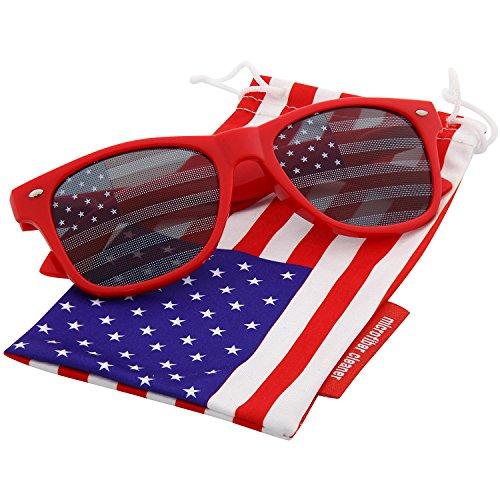 grinderPUNCH American Flag Sunglasses Classic - Sunglasses Fg