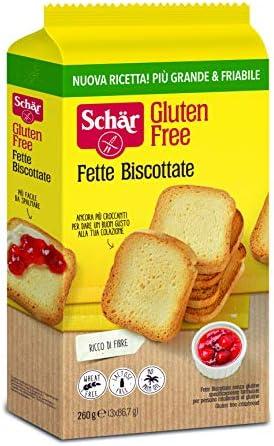 Dr. Schar Biscotes Pan Tostado sin Gluten,