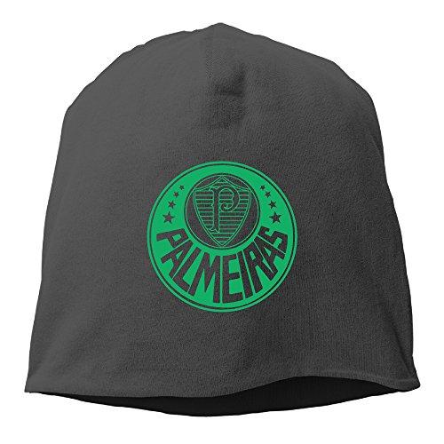 fan products of Sociedade Esportiva Palmeiras Logo Thiago Martins Bueno Beanie Hats For Men Women Black