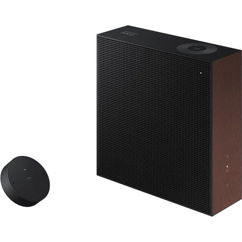 Samsung Electronics Outdoor/Surround Speaker Bluetooth Speaker Set of 2 Black (VL350/ZA)