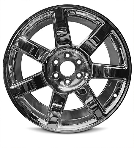 New 22 x 9 Inch 6 Lug Cadillac Escalade (07-14) Escalade ESV (07-14) Escalade EXT (07-13) Aluminum Full Size Replica Wheel Rim (22x9
