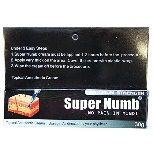 30g SUPER NUMB Anesthetic Skin...