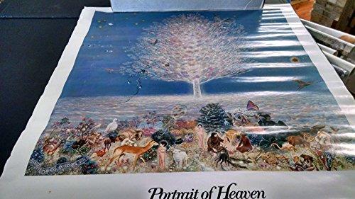 1975 a Portrait of Heaven hippie head shop vintage new Nos poster