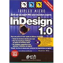 INDESIGN ADOBE 1.0 +CD-ROM MAC/PC