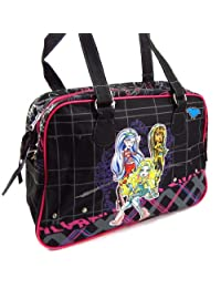 Cabas bag 'Monster High' black pink.
