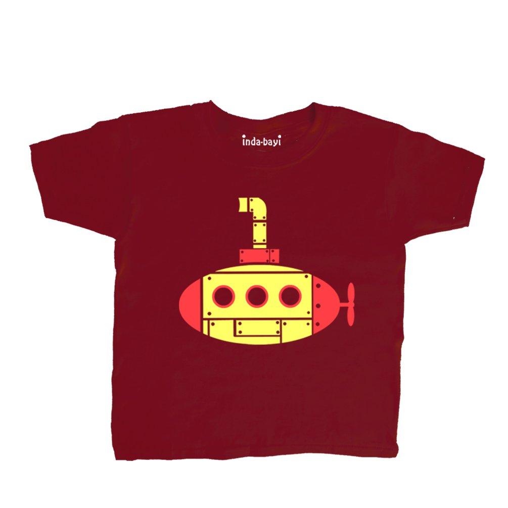Submarine Inda-Bayi Baby-Toddler-Kids Cotton T Shirt