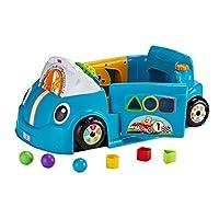 Fisher-Price Laugh & Learn Crawl Around Car, Blue [English]
